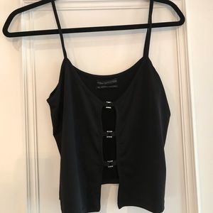 NWOT - Urban Outfitters black going out top